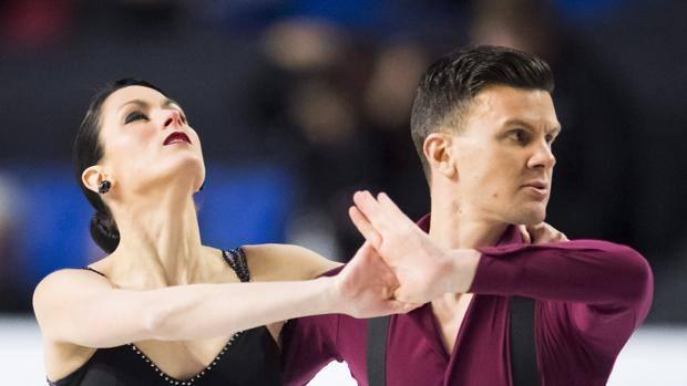 Charlene Guignard e Marco Fabbri. Ap