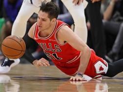 Ryan Arcidiacono, 24 anni, seconda stagione ai Bulls. Afp
