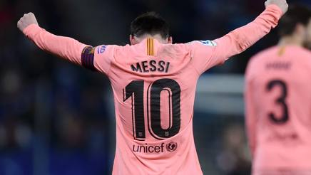 Lionel Messi. GETTY IMAGES