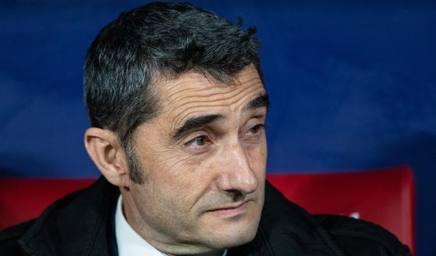 Ernesto Valverde, tecnico del Barcellona. Getty