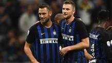 Stefan De Vrij, 26 anni, e Milan Skriniar, 23 anni: il muro dell'Inter tornerà contro il Psv Getty