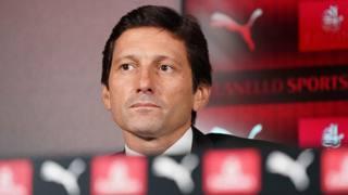 Leonardo, direttore dell'area tecnica e sportiva del Milan. Lapresse