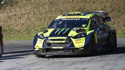 Valentino Rossi, dominatore del Rally di Monza. Milagro