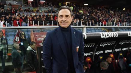 Cesare Prandelli, allenatore del Genoa. LaPresse