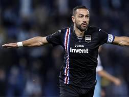 Fabio Quagliarella, attaccante della Samp. Ansa