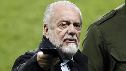Aurelio de Laurentiis, presidente del Napoli. Epa
