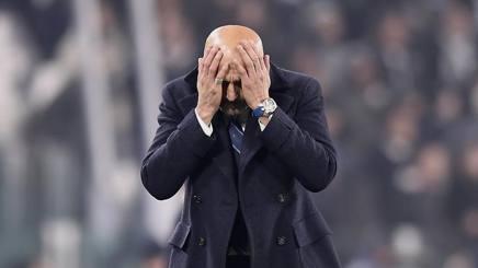 Luciano Spalletti, allenatore dell'Inter. LaPresse