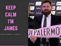 James Sheehan, nuovo socio del Palermo. Facebook