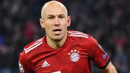 Arjen Robben, esterno offensivo del Bayern Monaco. Afp