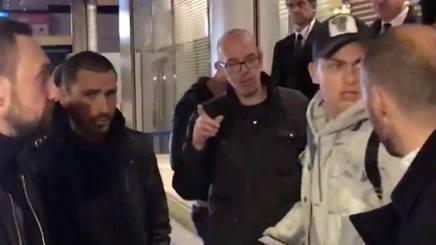 Leonardo Bonucci e Paulo Dybala, giocatori della Juventus