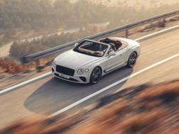 La Bentley Continental GT Convertible