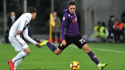 Federico Chiesa, attaccante della Fiorentina. Getty