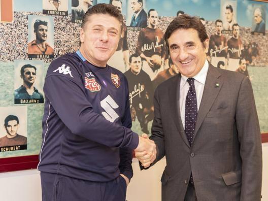 """Toro, Mazzarri-Cairo in coro """"Nel derby come col Milan"""""""
