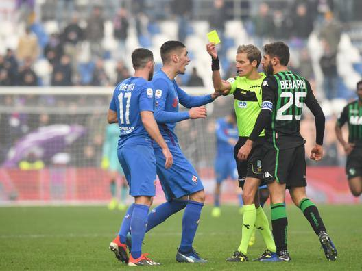 Sassuolo-Fiorentina. LaPresse