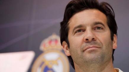 Santiago Solari, allenatore del Real Madrid. Epa
