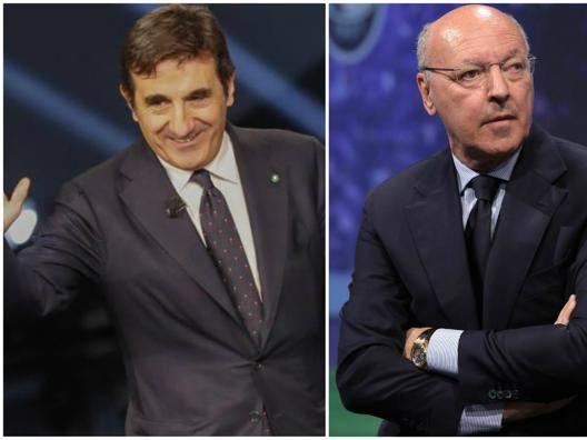 """Cairo: """"Sesti non a caso""""  Marotta: """"Italiane avanti"""""""