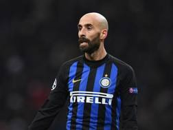 Borja Valero, centrocampista dell'Inter. Getty