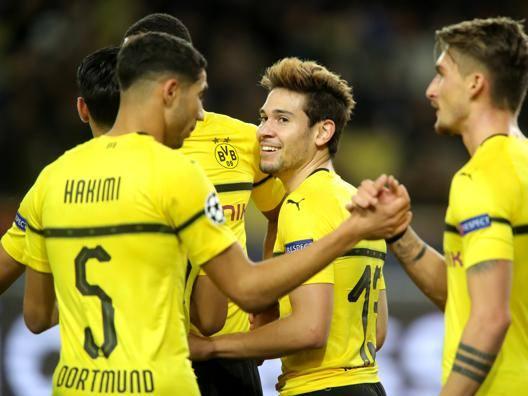 Il Dortmund sorride: è primo Atletico flop: pari col Bruges