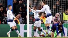 L'esultanza del Tottenham. Getty