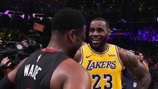 LeBron-Wade, quante emozioni: le immagini dell'ultima sfida