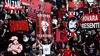 I tifosi del Milan. Lapresse