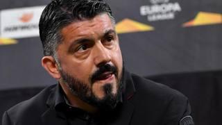 Gennaro Gattuso, allenatore del Milan. Ansa