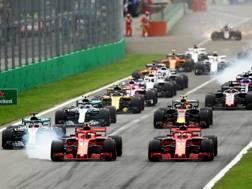 La partenza dell'ultimo GP d'Italia. Getty