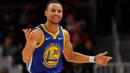 Stephen Curry, 30 anni. Afp