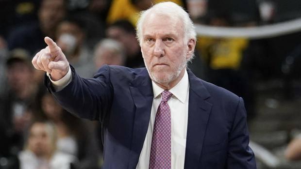 Gregg Popovich, 69 anni, 4° coach più vincente della storia Nba