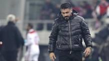 Rino Gattuso, tecnico del Milan. Ap