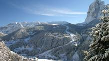 La Saslong in Val Gardena. Ansa