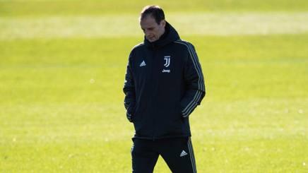 Massimiliano Allegri, 51 anni, quinta stagione sulla panchina della Juventus. Afp