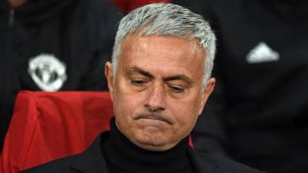 José Mourinho, manager del Manchester United Afp
