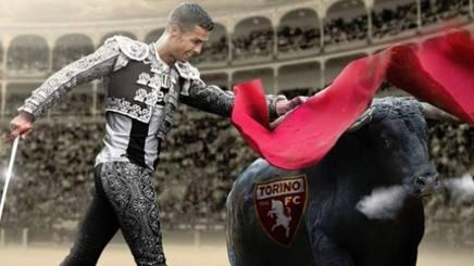 Cristiano Ronaldo in versione matador