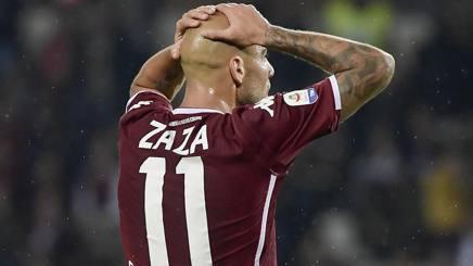 Simone Zaza, attaccante del Torino. Lapresse