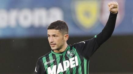 Stefano Sensi, centrocampista del Sassuolo. Lapresse