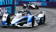 La BMW di Antonio Felix Da Costa in azione