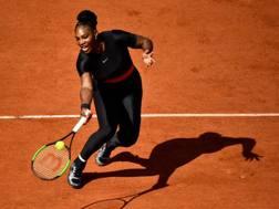 Serena Williams al Roland Garros 2018