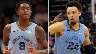 MarShon Brooks, 29 anni, e Dillon Brooks, 22, entrambi dei Memphis Grizzlies