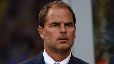Frank De Boer, ex allenatore dell'Inter. Getty