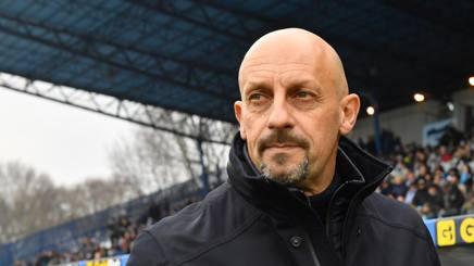 Domenico Di Carlo, allenatore del Chievo Verona. LaPresse