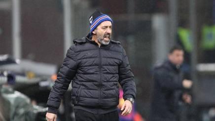 Marco Giampaolo, allenatore della Sampdoria. LaPresse
