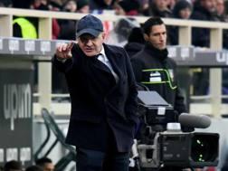 Beppe Iachini, allenatore dell'Empoli. Ansa