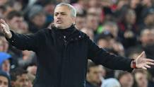 José Mourinho, manager del Manchester United. Afp