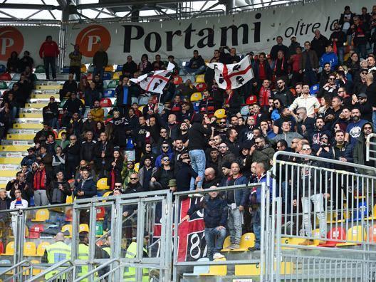 I tifosi del Cagliari. Getty