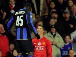 Mario Balotelli e Cristiano Ronaldo INSTAGRAM