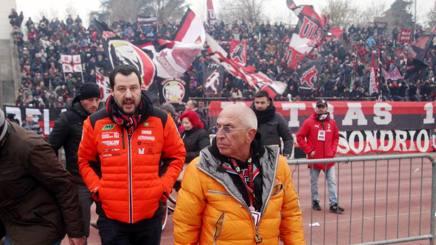 Matteo Salvini, 45 anni, Ministro dell'interno. Lapresse