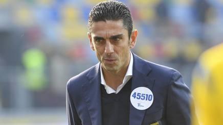 Moreno Longo, tecnico del Frosinone. Lapresse