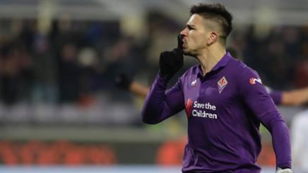Giovanni Simeone, attaccante della Fiorentina. Getty