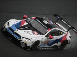 La BMW M8 GTE di Alessandro Zanardi in azione